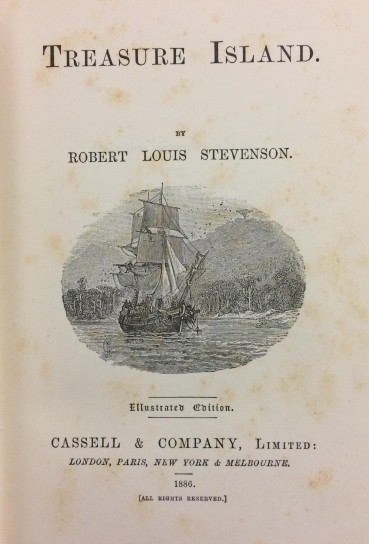 Treasure Island - title page