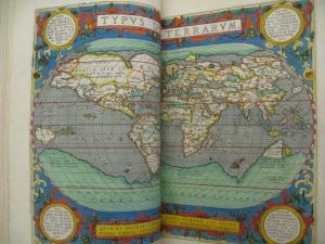 'Typus Orbis Terrarum': An Image of the Whole World, Ortelius (1603)