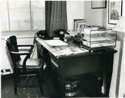 Eliot's Office at Faber