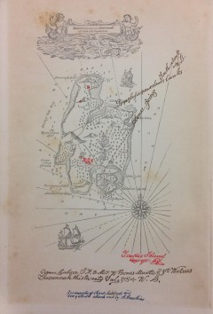 Treasure Island - map