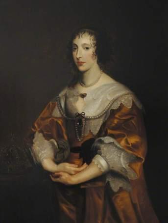 van Dyck, Anthony, 1599-1641; Henrietta Maria (1609-1669)