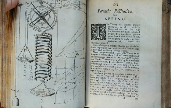 With facing diagrams, Hooke explains the anagram he posed two years before the publication of this paper
