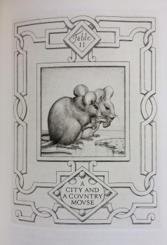 'A city and a country mouse' - illustration
