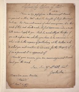 George Austen Letter