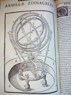 An astrolabe design by Brahe