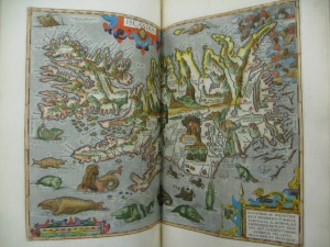 Islandia: Iceland, Ortelius (1603)