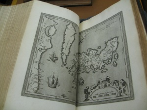 Another page from the 1612 edition, here showing Japan and Korea