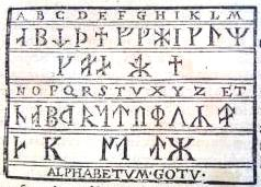A runic alphabet