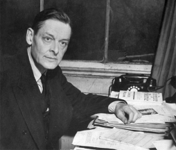 T.S. Eliot working at Faber & Faber